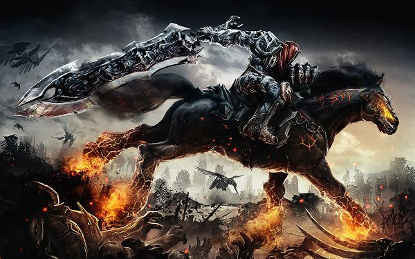 Free Download TV & Movies Post of Darksiders Game, Brave and Tall Knight, Shall Conquer Everything