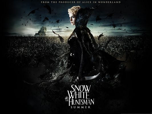 Free Movie Images as Wallpaper, Snow White And The Huntsman, the Evil Queen