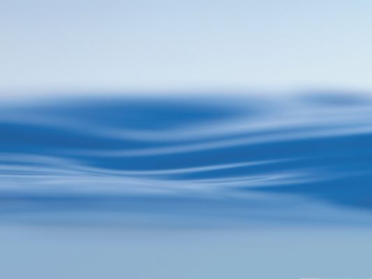 click to free download the wallpaper--Free Sea Waterpaper, Blue Water Surface, Soft and Gentle Wind
