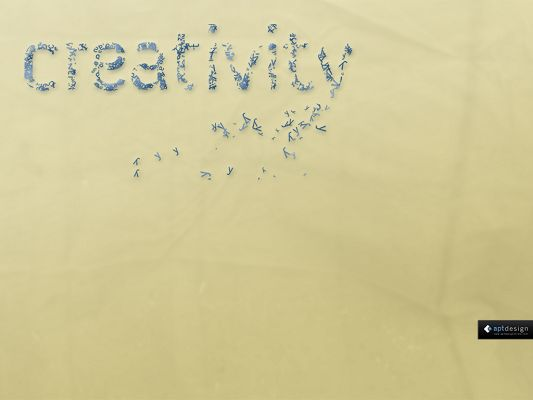 Free Simple Wallpaper, Creativity Can be Easily Seen, Light Yellow Background, Gains Great Attention