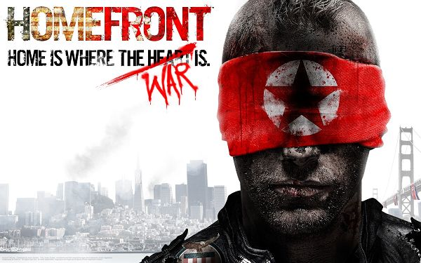 click to free download the wallpaper--Free TV & Movies Picture - Homefront Game Post in Pixel of 1920x1200, Man in Long Beard and Red Cover, Keep a Distance from Him