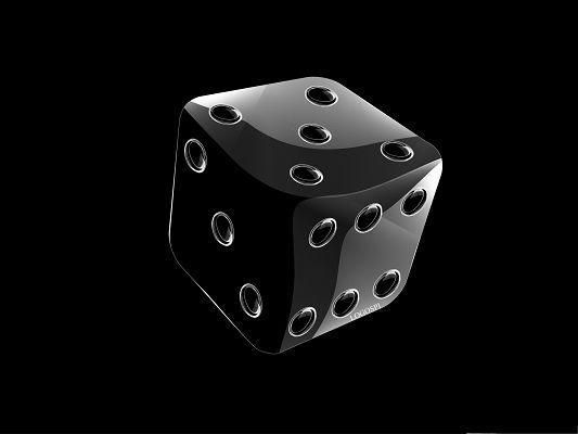 click to free download the wallpaper--Free Wallpaper Background, Crystal Clear Dice on Dark Background