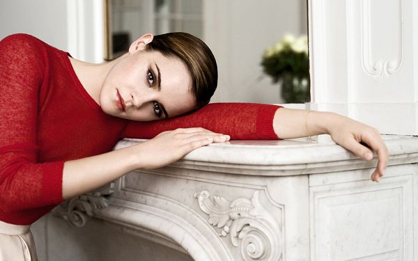 Free Scenery Wallpaper - Emma Watson in Short Hair, the Same Attractive!