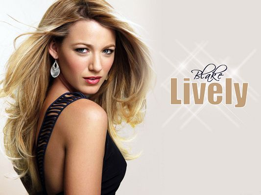 Free Scenery Wallpaper - Includes Blake Lively, the All-American Girl at Its Best!