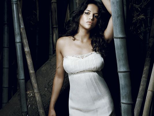 Free Scenery Wallpaper - Includes Michelle  Rodriguez, the One Added More Wild Atmosphere!