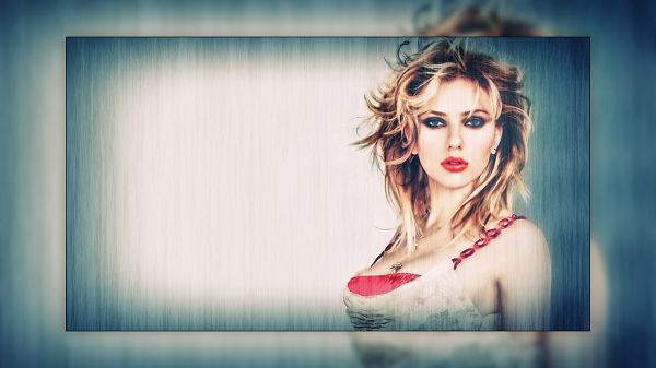 Free Scenery Wallpaper - Includes Scarlett Johansson, Simple Yet Quite Impressive!