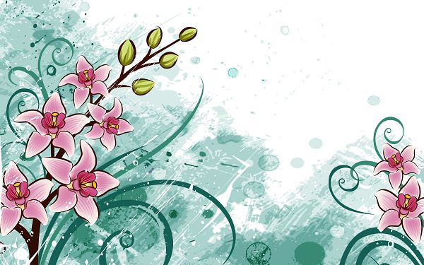 Free Scenery Wallpaper - Includes Several Flowers, Sure to Beautify and Decorate Your Device!