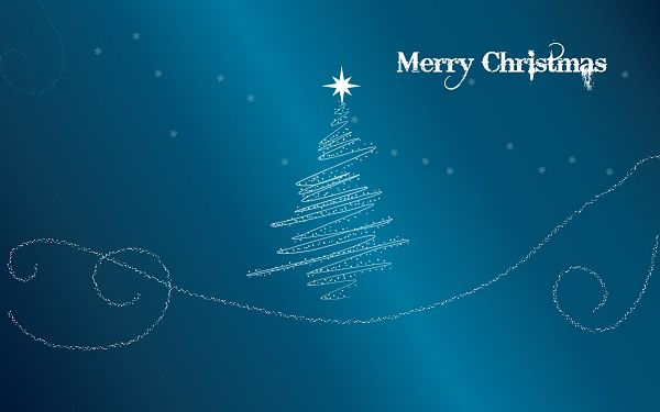 Free Scenery Wallpaper - Includes a Merry Christmas Glitter, the Good One to Decorate Your Digital Device!,click to download