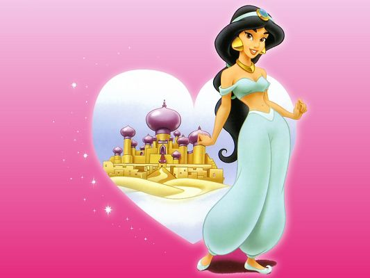 Free Wallpaper - Includes the Godness of Aladdin, What Do You Want from Her?,click to download