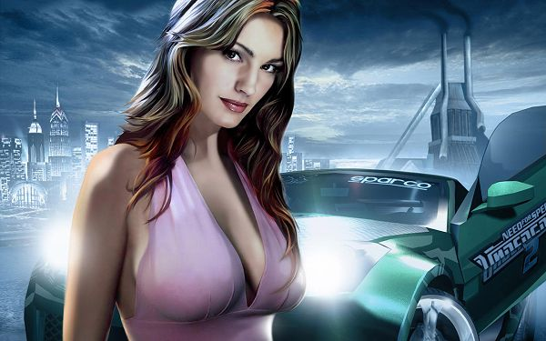 Free Wallpaper - Is the Girl Inviting a Drive or Competition?,click to download