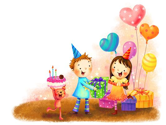 Free Wallpaper - What a Cozy and Happy Birthday Celebration Scene!
