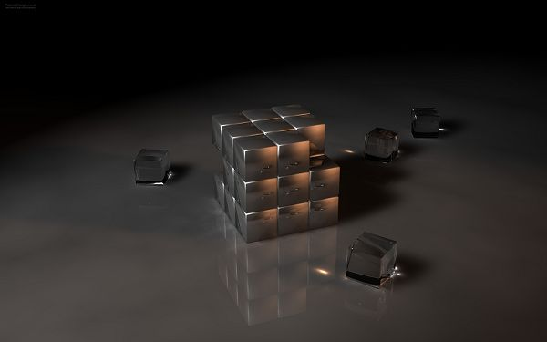Free Wallpaper - What a Powerful and Mysterious Square!,click to download
