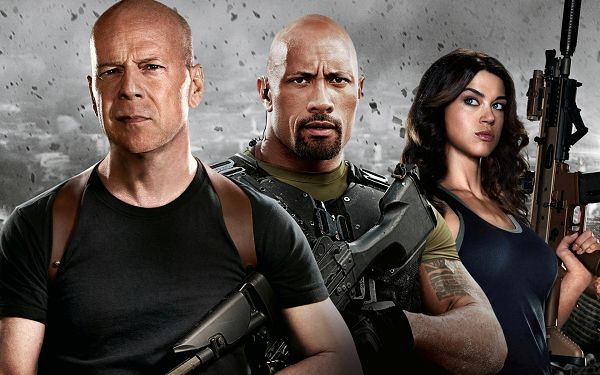click to free download the wallpaper--G.I. Joe Retaliation 2013 in 1920x1200 Pixel, All Well-Equipped with Guns, Broken Pices in the Air, Will Accomplish Any Task - TV & Movies Wallpaper