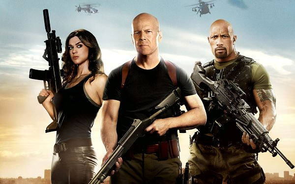 click to free download the wallpaper--G.I. Joe Retaliation in 2560x1600 Pixel, All Guys in Cool Suit and Gun, Shall be Hard to Beat - TV & Movies Wallpaper
