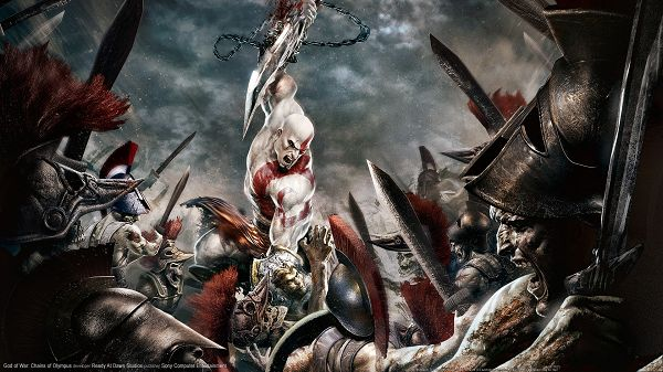 God of War 2 Post in Pixel of 1920x1080, All Scary Characters, All Strong and Tough Men, Scary at the First Glance - TV & Movies Post