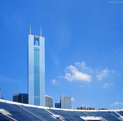 click to free download the wallpaper--Guangzhou Citic Plaza Photo Album