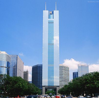 click to free download the wallpaper--Guangzhou Citic Plaza Photography