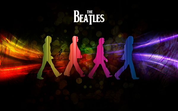 click to free download the wallpaper--HD Beatles Wallpaper Wide in 1280x800 Pixel, Each Member Comes in a Different Color, a Great Fit Computer/Mobile Devices - TV & Movies Wallpaper