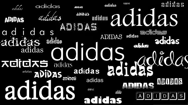 click to free download the wallpaper--HD Brandy Wallpaper - Adidas in Different Styles, Put on Dark Background