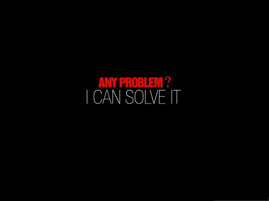 click to free download the wallpaper--HD Wallpaper for Widescreen - Quite a Problem-Solver, Turn Your Question on