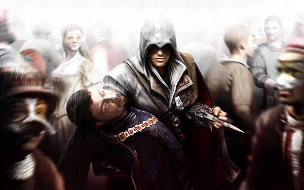 HQ Assasin's Creed Post in 2560x1600 Pixel, the Man Killing Others Mysteriously, He Must be a Frequent Doer - TV & Movies Post