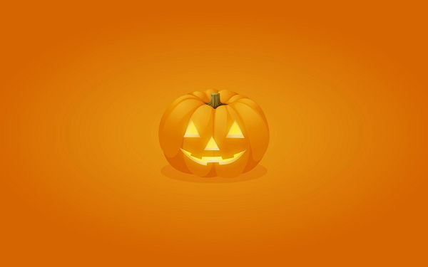 click to free download the wallpaper--Halloween Pumpkin HD Post in Pixel of 1920x1200, a Smiling Pumpkin, Orange Ripples Are Generated, a Great Choice to Spread Holiday Atmosphere - TV & Movies Post