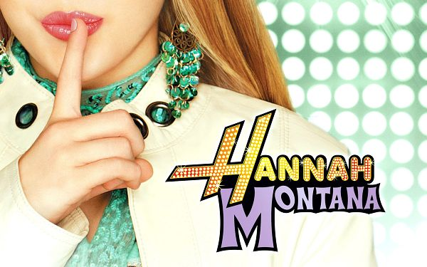 click to free download the wallpaper--Hannah Montana in 1920x1200 Pixel, Finger is Put on the Lady's Pink and Sweet Lip, Want a Kiss from Her? - TV & Movies Wallpaper
