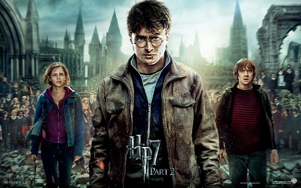 Harry Potter and The Deathly Hallows Part 2 Post in 1920x1200 Pixel, 3 Injured Yet Persistent Guys, Will Look Good on Your Device - TV & Movies Post