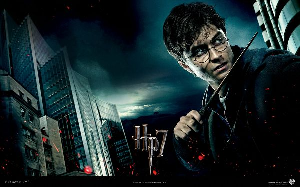 click to free download the wallpaper--Harry Potter and the Deathly Hallows Post in 1920x1200 Pixel, Seen from His Outlook, Must Have Been Done a Hard Battle - TV & Movies Post