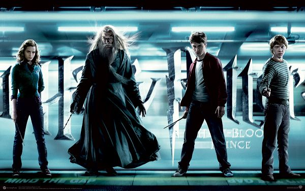 click to free download the wallpaper--Harry Potter and the Half Blood Prince Post in 1920x1200 Pixel, All Guys in Stand, They Are Brave and Hard to Beat - TV & Movies Post