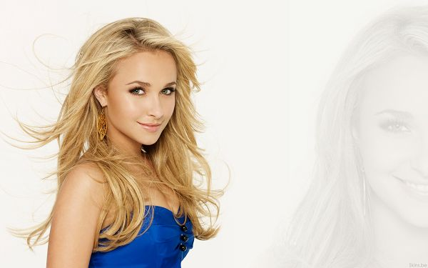 Hayden Panettiere HD Post in Pixel of 1920x1200, In Blue Dress and Dancing Hair, She is Impressive and Fit - TV & Movies Post