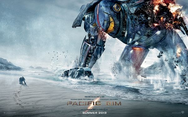 High Quality Pacific Rim 2013 Movie Wallpaper, Big Monster is Injured, He is Still Scaring, 1920x1200 in Pixel - TV & Movies Wallpaper
