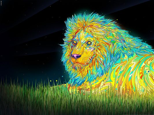 High Resolution Wallpapers, Lion Art, Imposing as the King