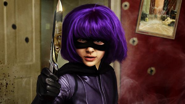 click to free download the wallpaper--Hit Girl in Kick Ass Post in 1600x900 Pixel, You Can Expect a Man Coming Up, a Severe War is to Break Out - TV & Movies Post