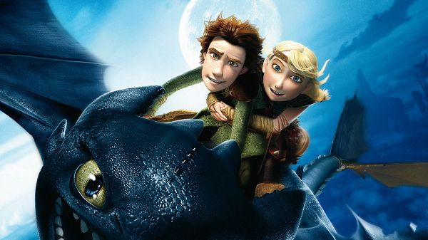 How To Train Your Dragon Post in 1920x1080 Pixel, Two Kids on an Imposing Dragon, Want a Ride with Them? - TV & Movies Post