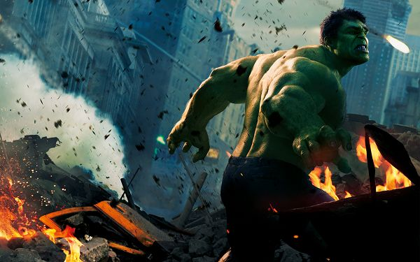 click to free download the wallpaper--Hulk in 2012 Avengers in 3000x1875 Pixel, Make Sure You Calm Down and Be Clear About How You Can be Away from the Messy World - TV & Movies Wallpaper