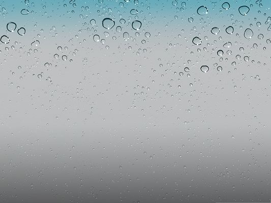 click to free download the wallpaper--IOS 5 Wallpaper, iPhone Wallpaper Made Up of Water Drops