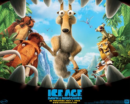 Ice Age 2 HD Post in 1280x1024 Pixel, the Guys Have Run Into Difficulty, Can't the Others See? Why Don't Make a Notification? - TV & Movies Post