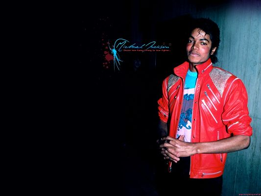 click to free download the wallpaper--Image of Super Stars, Young Michael Jackson, Remembrance of Him Won't Fade