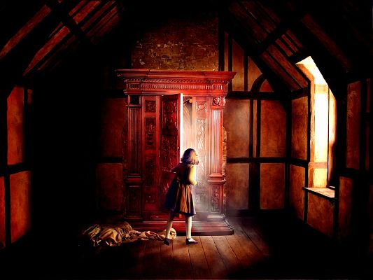 Image of TV & Movies, the Chronicles of Narnia, an Open Door, Everything is Alive