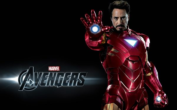 click to free download the wallpaper--Iron Man in The Avengers in 2560x1600 Pixel, Robert Downey is in Icon Man 3, in His Typical Red Suit, He Shall Fit Various Devices - TV & Movies Wallpaper