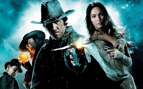 click to free download the wallpaper--Jonah Hex 2010 Movie Post in 1920x1200 Pixel, All Guys in Weapon and Looking at One Direction, the Wanted Man is So Dead - TV & Movies Post