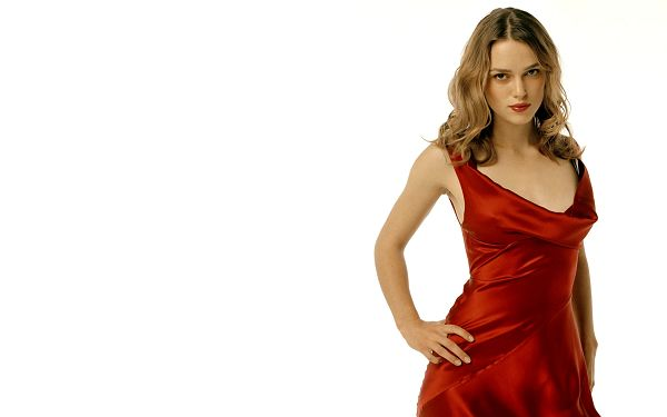 click to free download the wallpaper--Keira Knightley HD Post in Pixel of 1920x1200, Lady in Red Dress and Impressive Facial Expression, She Shall Add Beauty to Your Device - TV & Movies Post