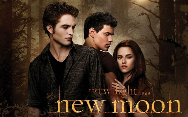 click to free download the wallpaper---Main Characters in New Moon, Serious Facial Expression, Got to Try Something Real - HD Movies & TV Wallpaper