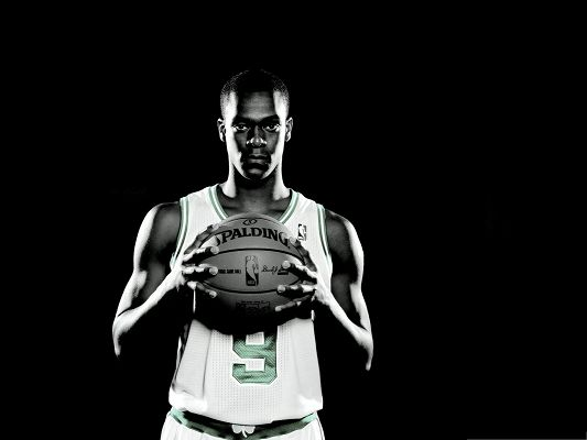 click to free download the wallpaper--NBA Images - Rajon Rondo, the Grown-Up Point Guard, Boston Celtics' New Super Star!