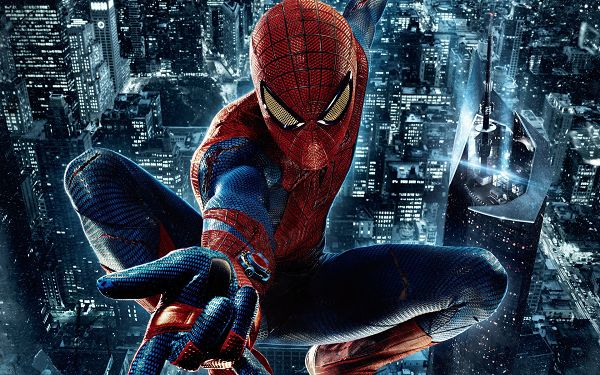 New Amazing Spider Man in 1920x1200 Pixel, Typical and Appealing Pose is Shown, the Man is Powerful and Tough - TV & Movies Wallpaper