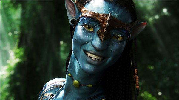Neytiri Avatar 1080p Post in 1920x1080 Pixel, a Smiling Guy, He is Definitely Happy, Any Viewer Can Get Infected - TV & Movies Post