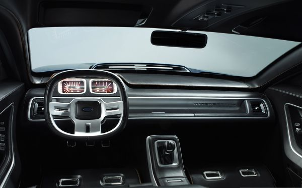 Nice Cars Image, Gray Car Interior, Dark Decorations, Great in Look