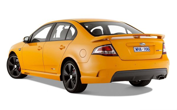 click to free download the wallpaper--Nice Cars Wallpaper, Orange FPV GT Car on White Background, Amazing Look