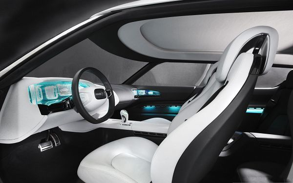 Nice Cars As Wallpaper Super Car Interior Blue Lights
